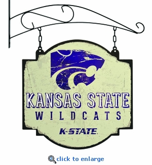 Kansas State Wildcats 16 X 16 Metal Tavern / Pub Sign