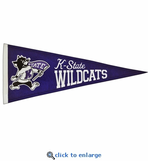 Kansas State Wildcats Traditions Wool Pennant (13 X 32)