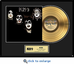 KISS - KISS Framed Gold Record, LE 2,500
