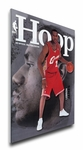 LeBron James 2003 NBA Game Program Cover on Canvas - Cleveland Cavaliers