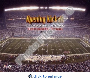 Lincoln Financial Field 2003 Opening Kickoff 8x10 Photo