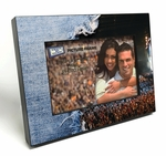 Live Concert / Torn Jeans 4x6 inch Table Top Picture Frame