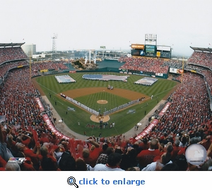 Los Angeles Angels 2002 World Series Game 1 Opening Ceremony 8x10 Photo