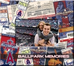 Los Angeles Angels 8 x 8 Ticket & Photo Album Scrapbook