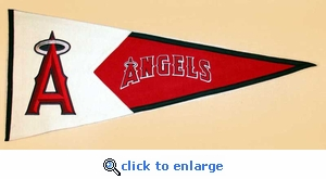 Los Angeles Angels Classic Wool Pennant (17.5 X 40.5)