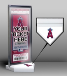Los Angeles Angels Home Plate Ticket Display Stand