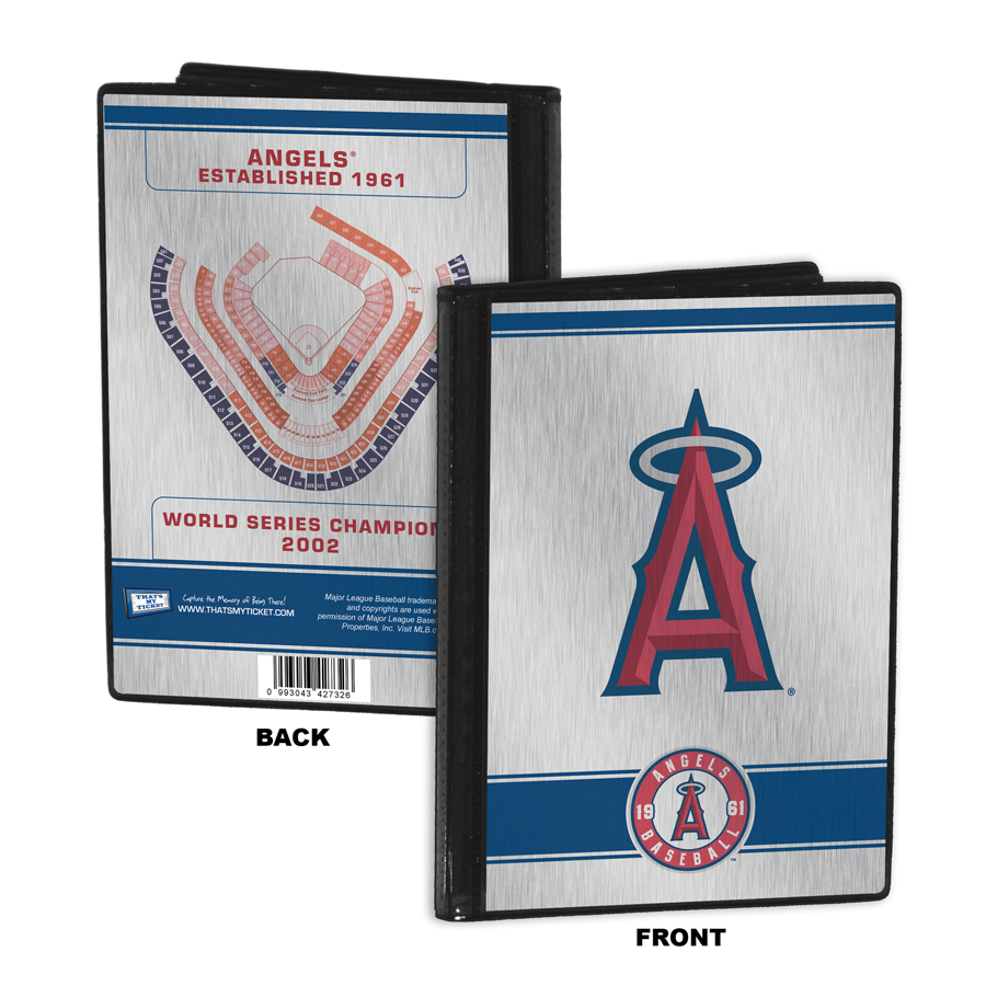 Los angeles angels personalized canvas birth announcement baby gift los angeles angels 4x6 mini photo album negle Choice Image