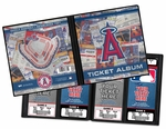 Los Angeles Angels Ticket Album
