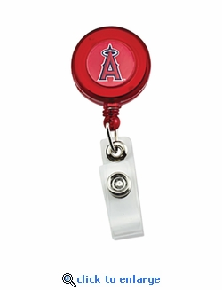 Los Angeles Angels Retractable Ticket Badge Holder