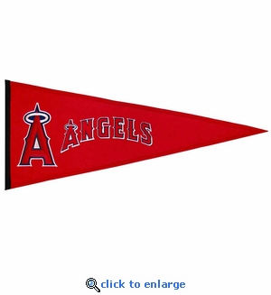 Los Angeles Angels Traditions Wool Pennant (13 x 32)