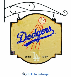 Los Angeles Dodgers 16 X 16 Metal Tavern / Pub Sign