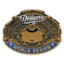 Los Angeles Dodgers 1963 World Series Champions Commemorative Embroidered Patch