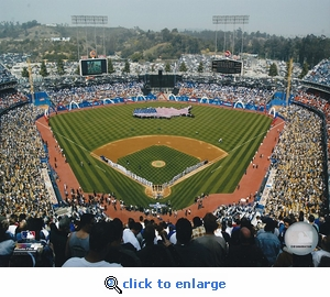 Los Angeles Dodgers 2006 Opening Day Dodger Stadium 8x10 Photo