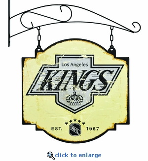 Los Angeles Kings 16 X 16 Metal Tavern / Pub Sign
