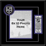 Los Angeles Kings 8x10 Photo Ticket Frame