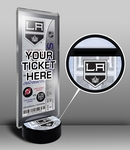 Los Angeles Kings Hockey Puck Ticket Display Stand