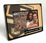 Los Angeles Kings Vintage Style Black Wood Edge 4x6 inch Picture Frame
