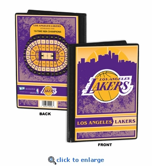 Los Angeles Lakers 4x6 Photo Album / Brag Book