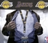 Los Angeles Lakers NBA Lanyard Key Chain and Ticket Holder - Black