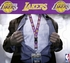 Los Angeles Lakers NBA Lanyard Key Chain and Ticket Holder - Purple