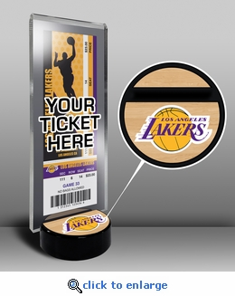 Los Angeles Lakers Ticket Display Stand