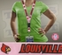 Louisville Cardinals NCAA Lanyard Key Chain and Ticket Holder - Pink