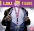 LSU Tigers NCAA Lanyard Key Chain and Ticket Holder - Purple