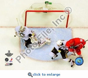 Marc-Andre Fleury Game 7 of the 2008-09 NHL Stanley Cup Finals 8x10 Photo