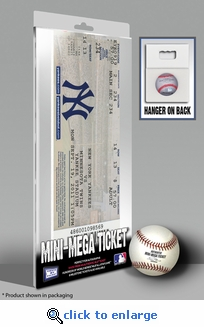 Mariano Rivera 602 Save Record Mini-Mega Ticket - New York Yankees