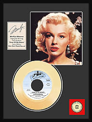 Marilyn Monroe - River of No Return Framed Gold Record