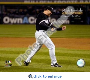 Mark Buehrle 4/18/07 No Hitter 8x10 Photo