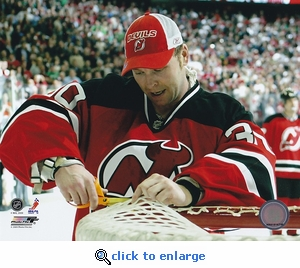 Martin Brodeur All Time Wins Record New Jersey Devils 8x10 Photo