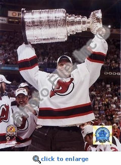 Martin Brodeur NJ 2003 Stanley Cup 8x10 Photo
