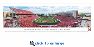 Maryland Terrapins Football - Panoramic Photo (13.5 x 40)