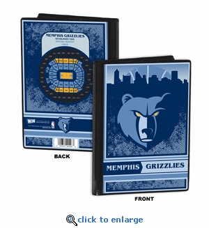 Memphis Grizzlies 4x6 Photo Album / Brag Book