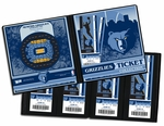 Memphis Grizzlies Ticket Album