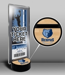 Memphis Grizzlies Ticket Display Stand