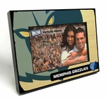 Memphis Grizzlies Black Wood Edge 4x6 inch Picture Frame