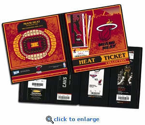 Miami Heat Ticket Album