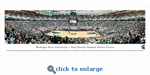 Michigan State Spartans Basketball - Panoramic Photo (13.5 x 40)