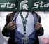 Michigan State Spartans NCAA Lanyard Key Chain and Ticket Holder - State