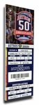 Mike Fiers No-Hitter (8/21/15) Canvas Mega Ticket - Astros