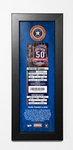 Mike Fiers No-Hitter (8/21/15) Framed Ticket Print - Astros