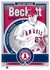 Mike Trout Beckett Magazine Cover Sports Propaganda Handmade LE Serigraph- Angels