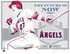 Mike Trout Sports Propaganda Handmade LE Serigraph - Angels