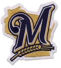 Milwaukee Brewers Embroidered Patch