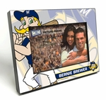 Milwaukee Brewers Mascot 4x6 Picture Frame - Bernie Brewer