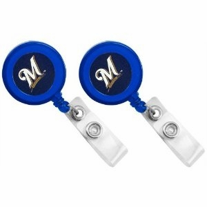 Milwaukee Brewers Retractable Ticket Badge Holder