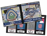Milwaukee Brewers Ticket Album
