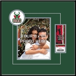 Milwaukee Bucks 8x10 Photo Ticket Frame